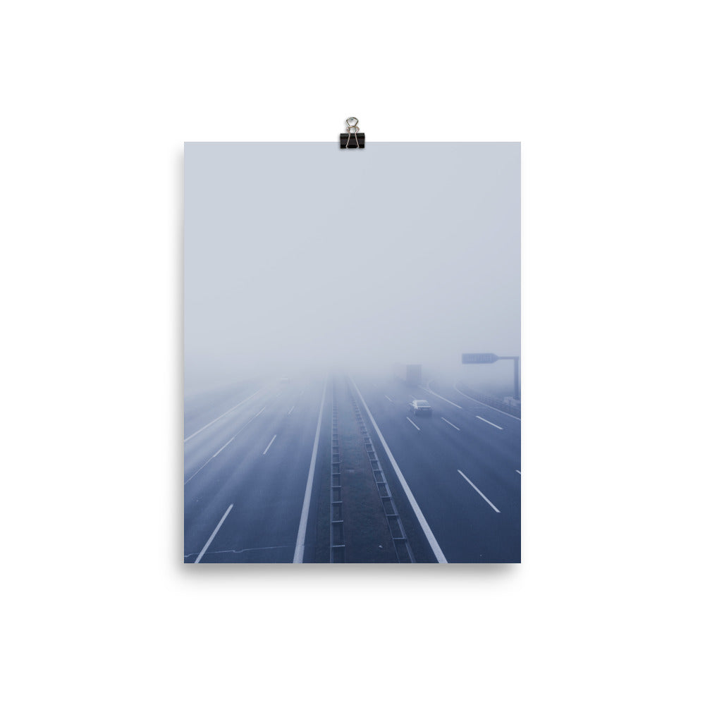 Road to nowhere print - Pretty Ventura