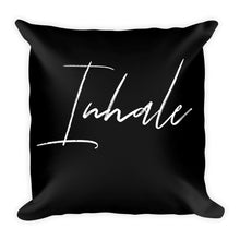 Inhale black cushion