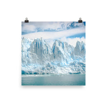Icy mountains print
