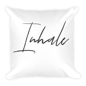 Inhale white cushion