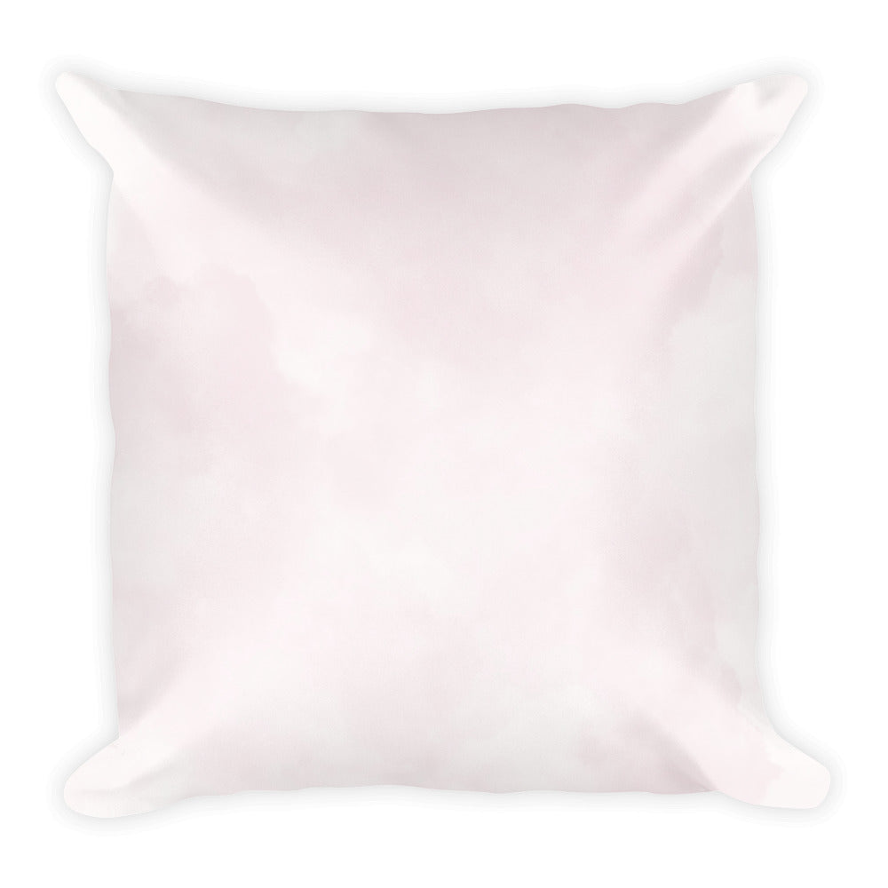 Champagne pink burst pattern cushion
