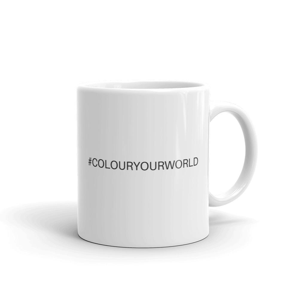 #COLOURYOURWORLD mug - Pretty Ventura