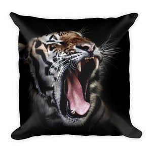 Tiger roar cushion