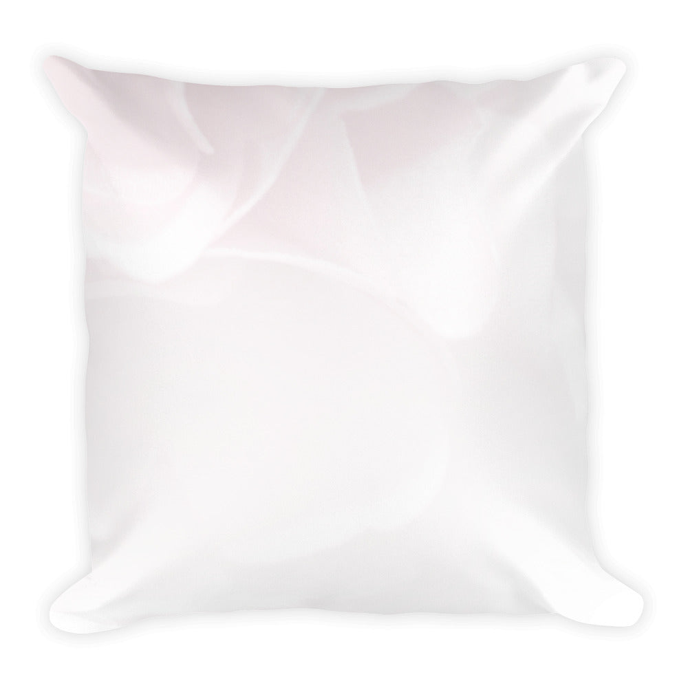 Champagne pink pattern cushion