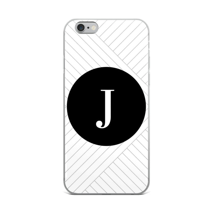 Santorini Collection J iPhone case
