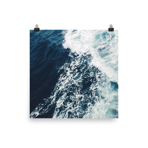 Breaking waves print - Pretty Ventura