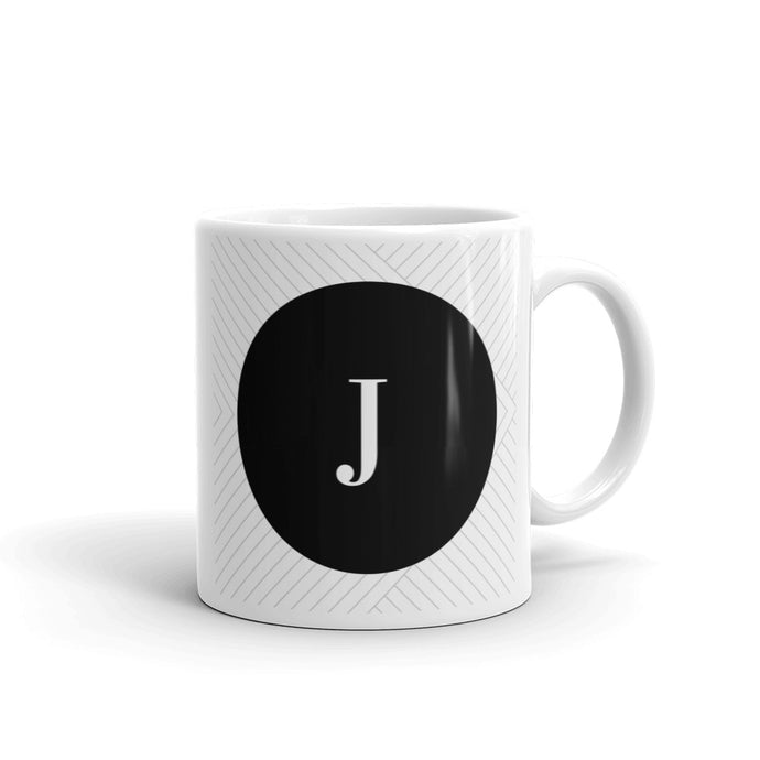 Santorini Collection J mug - Pretty Ventura