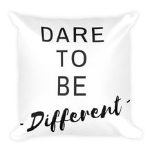 Dare to be different white cushion - Pretty Ventura