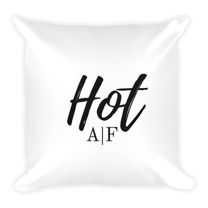 Hot A|F white cushion