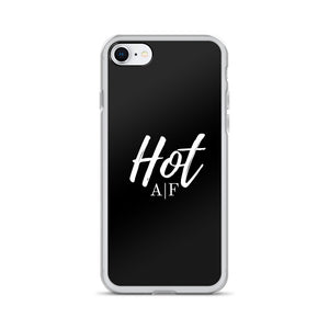 Hot A|F black iPhone Case