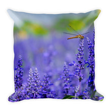 Dragonfly lavender cushion