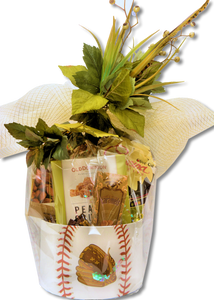 "BASEBALL BASKET ""CUSTOM MADE"" - KS Gift Baskets"