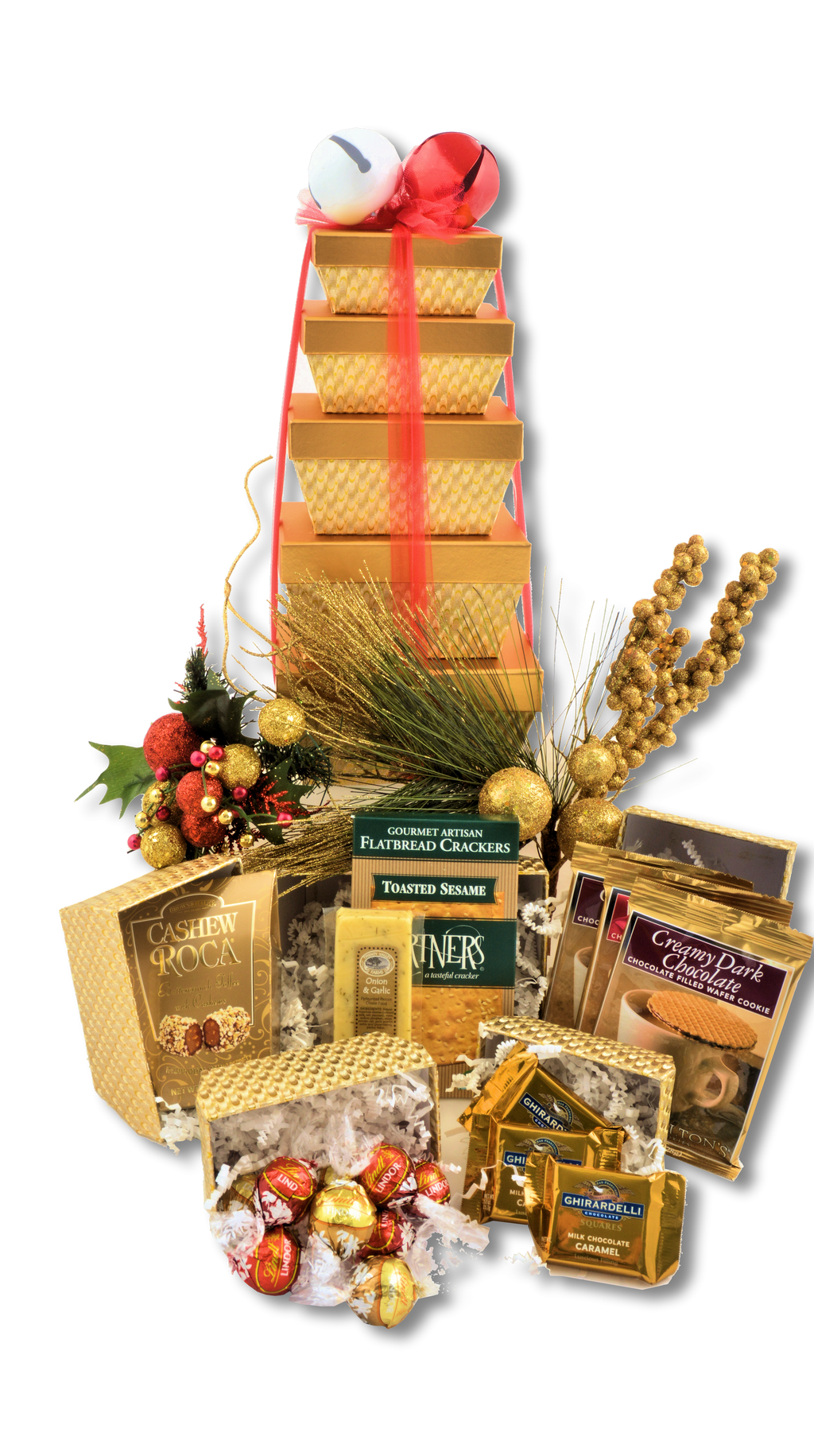 JINGLE BELLS TOWER - KS Gift Baskets