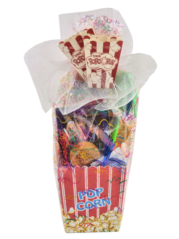 CELEBRATION POPCORN BASKET