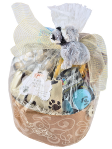 "NEW PUPPY ON THE BLOCK ""CUSTOM MADE"" - KS Gift Baskets"