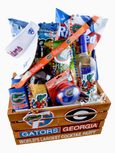 "TAILGATE EXTRAVAGANZA CRATE ""CUSTOM MADE"" - KS Gift Baskets"