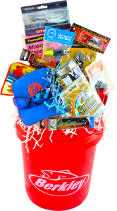 "THE FISHING FRENZY BUCKET ""CUSTOM MADE"" - KS Gift Baskets"