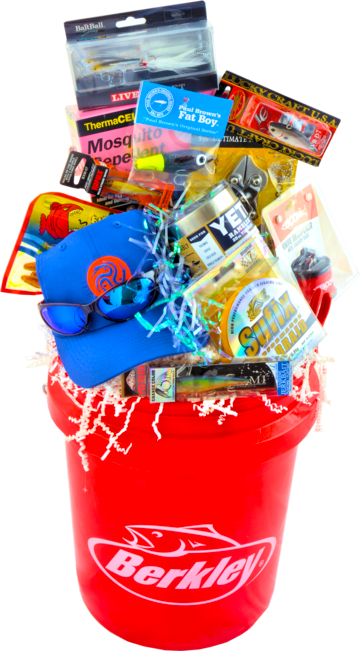 THE FISHING FRENZY BUCKET