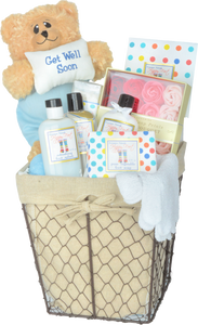 GET WELL HAPPY FEET - KS Gift Baskets