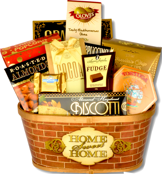 HOME SWEET HOME BASKET - KS Gift Baskets