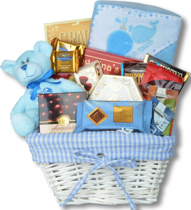 WELCOME HOME BABY-BOY - KS Gift Baskets