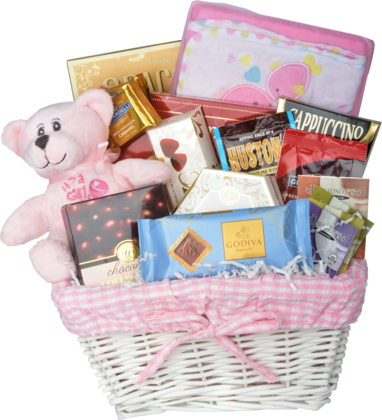 WELCOME HOME BABY-GIRL - KS Gift Baskets
