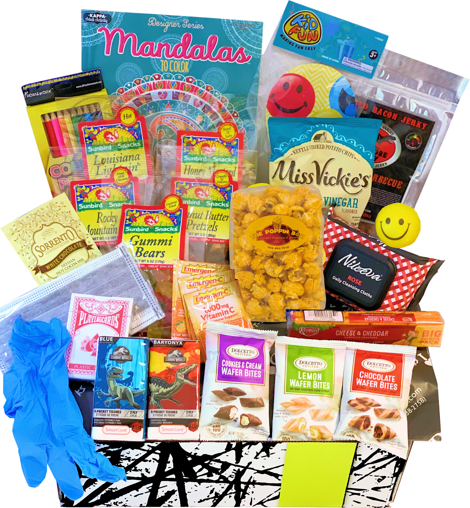 The I'm Care-N-about YOU iCare Package - KS Gift Baskets