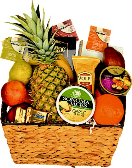 THE HOLIDAY FRUIT BASKET - KS Gift Baskets
