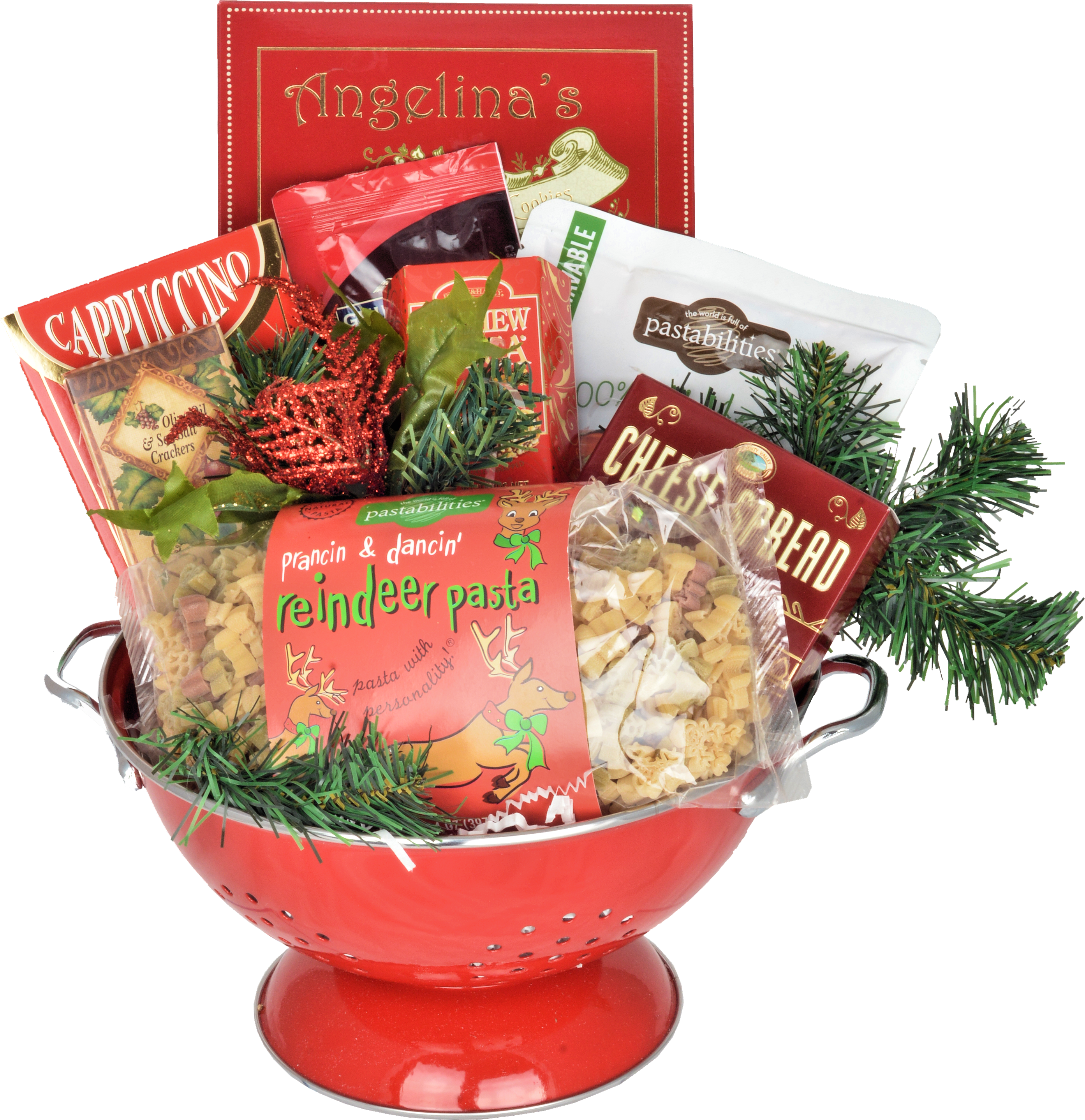 CHRISTMAS PASTABILITY BASKET - KS Gift Baskets