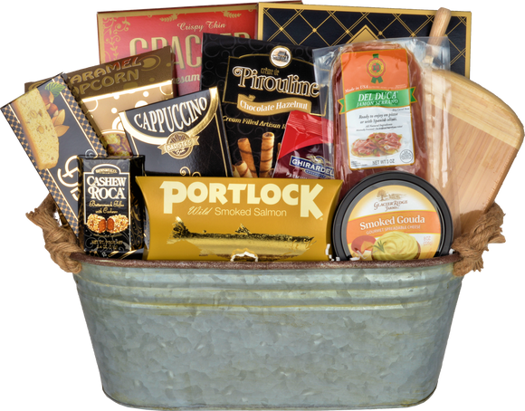 THE TIN GIFT BASKET - KS Gift Baskets