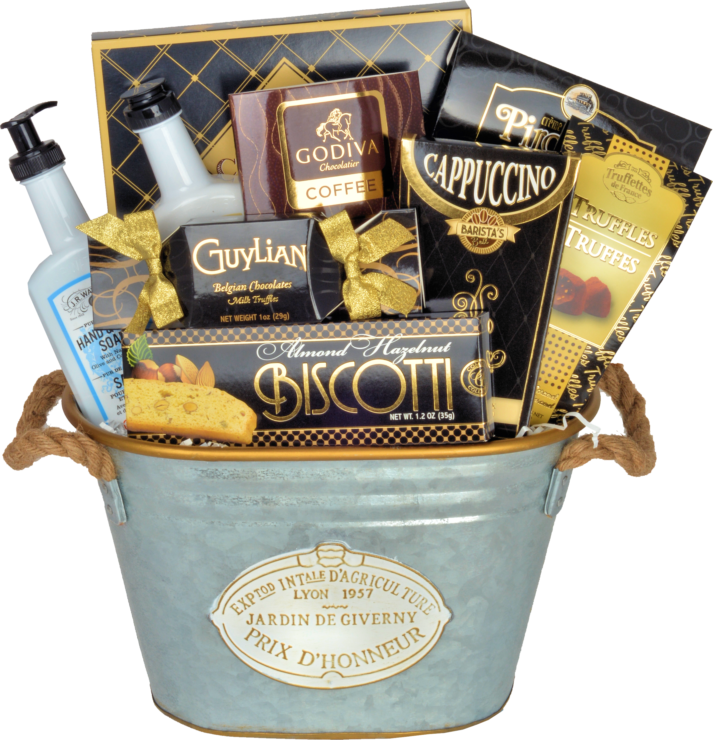 THE CLASSIC COOKIES AND CHOCOLATES - KS Gift Baskets