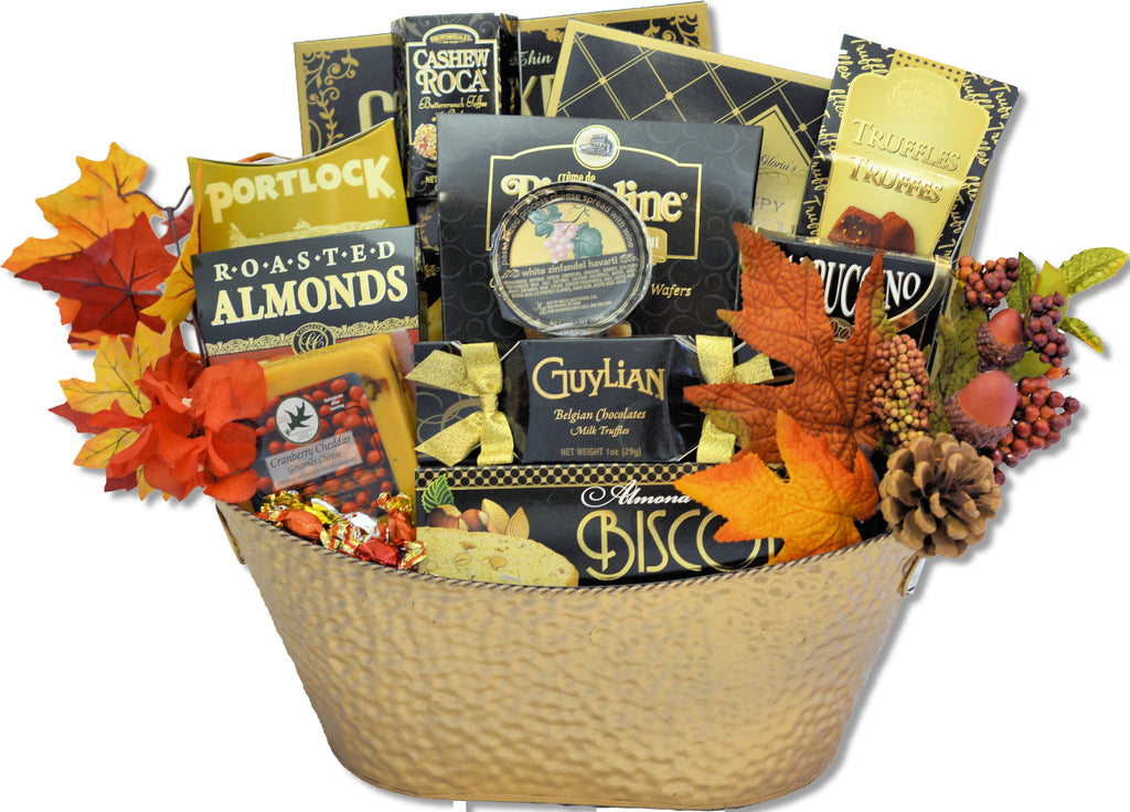 THE FALL FESTIVE BASKET - KS Gift Baskets