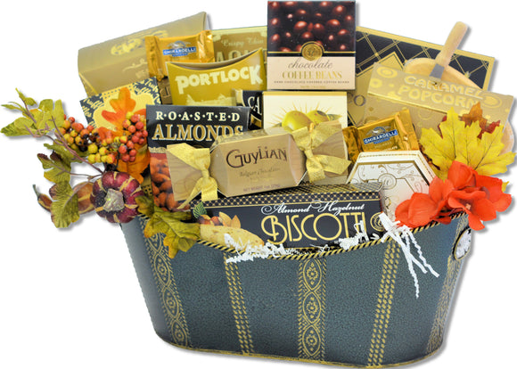 THE THANKSGIVING INDULGENCE - KS Gift Baskets