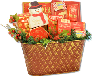 "FROSTY""S HOLIDAY CELEBRATION - KS Gift Baskets"