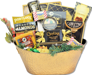 THE GOLDEN TICKET BASKET - KS Gift Baskets