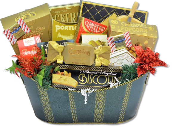 THE HOLIDAY INDULGENCE - KS Gift Baskets