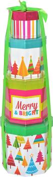 The Merry & Bright Tower - KS Gift Baskets
