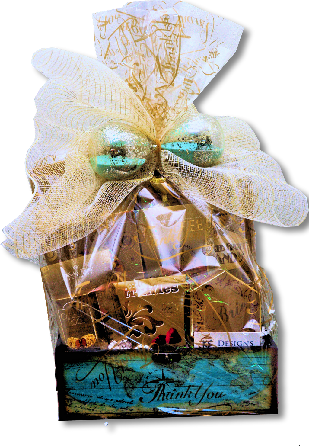 "TIMELESS THANK YOU ""CUSTOM MADE"" - KS Gift Baskets"