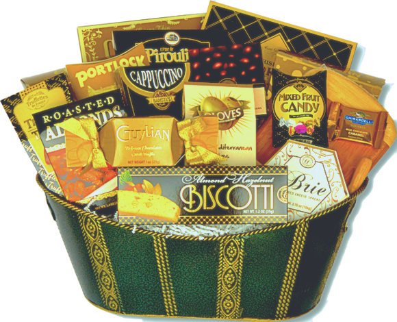 THE LUXURIOUS INDULGENCE - KS Gift Baskets