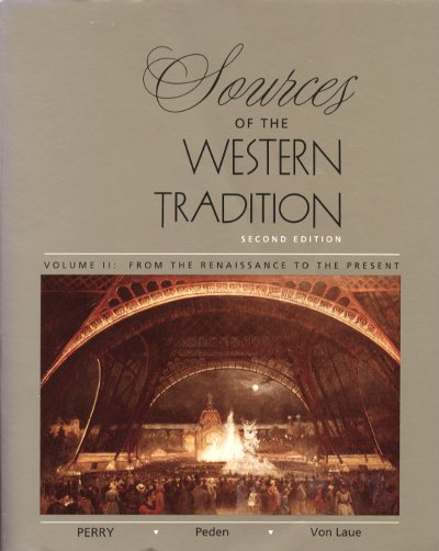Sources of the Western Tradition Vol 2