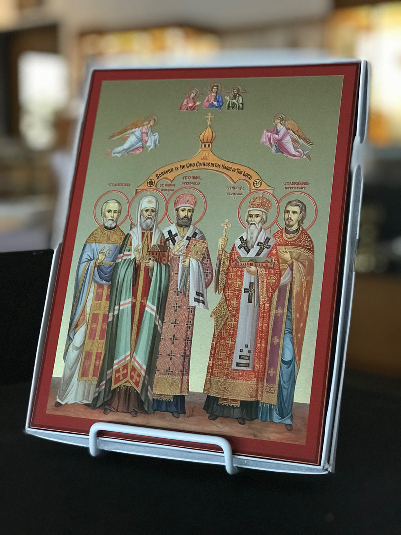 Saints of St Tikhon's Icon