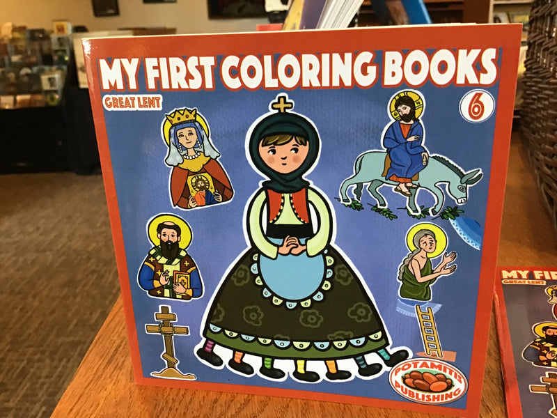 First Coloring Book 6