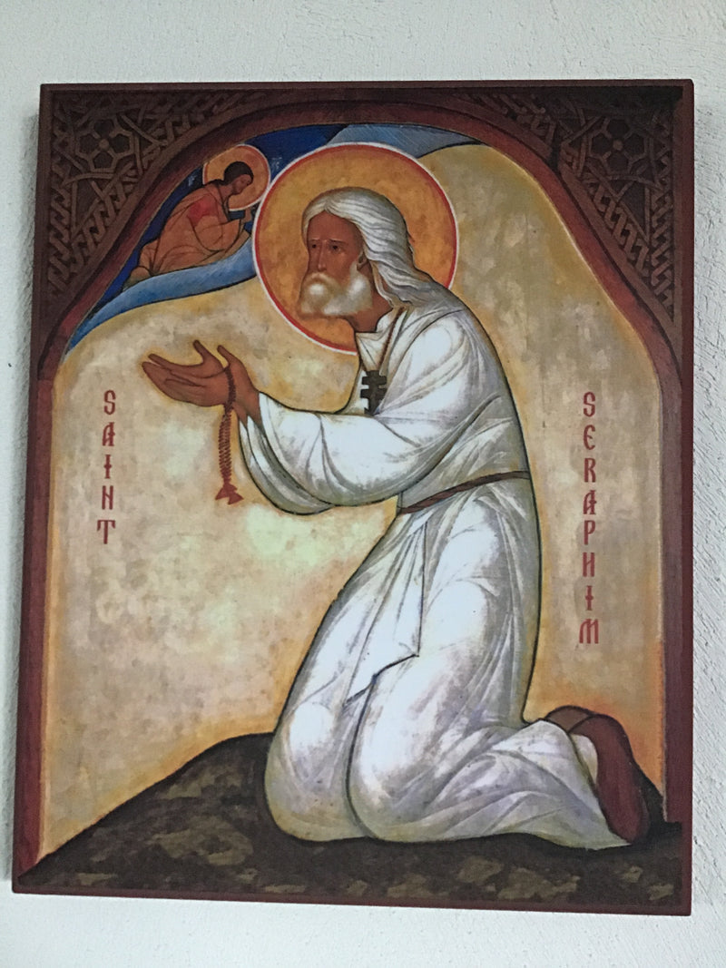 St. Seraphim of Sarov Icon - L