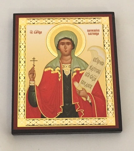 Mini St. Paraskeva Icon