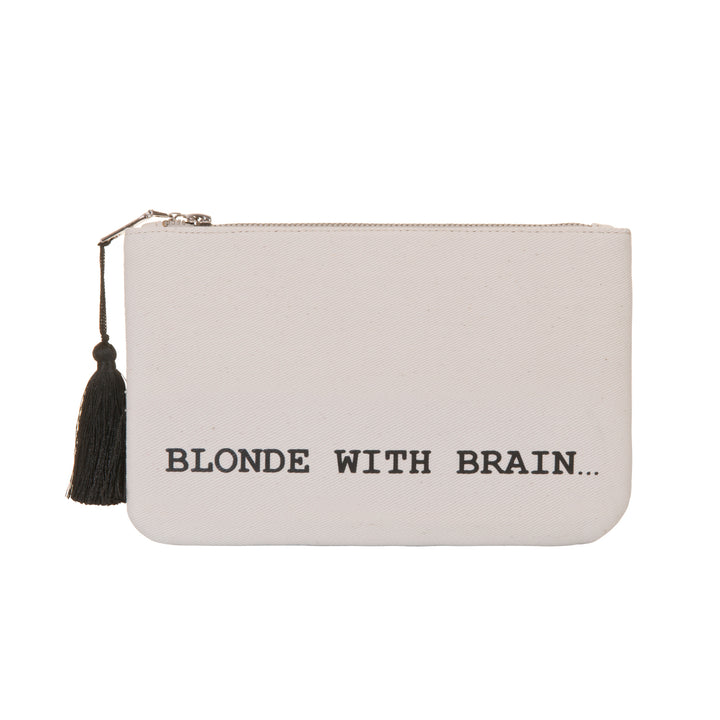 Blonde With Brain Clutch