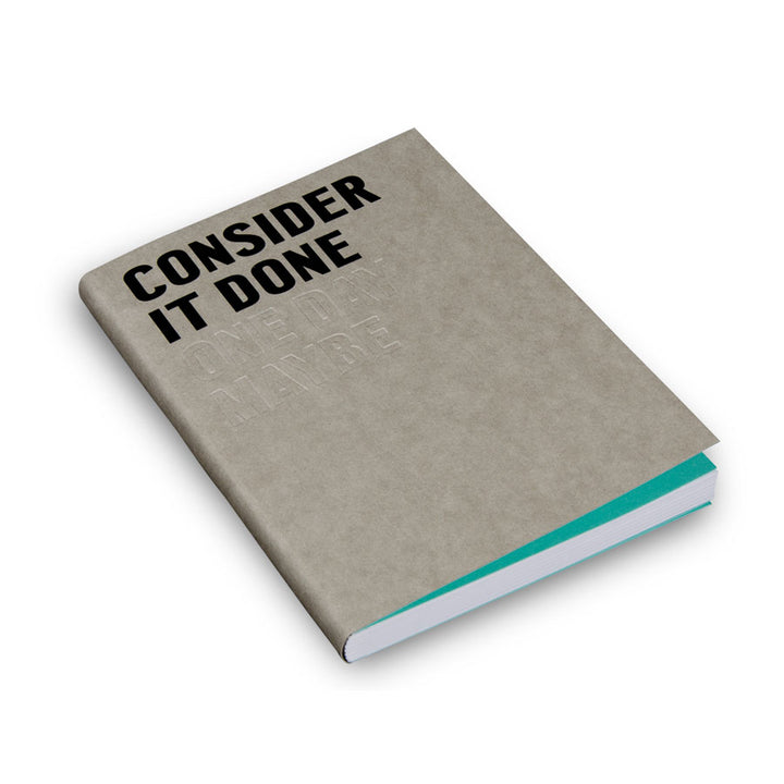 Consider It Done -Fill Defter