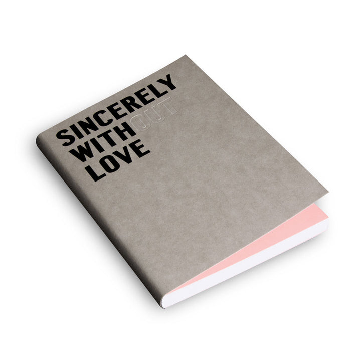 Sincerely With Love-Fill Defter
