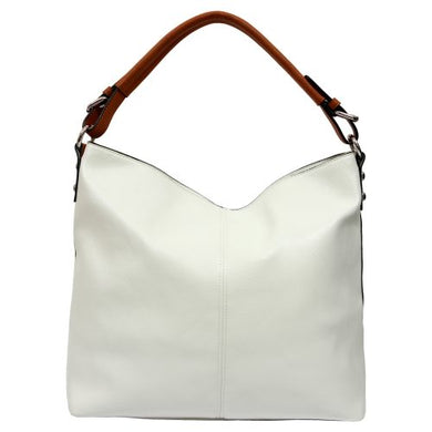 Tegan Shoulder Bag - White