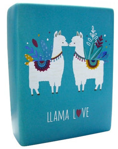Ceramic Sign - Llama Love