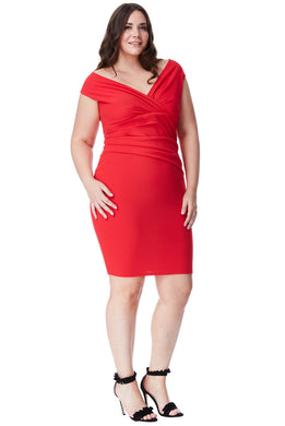 Racing Red Dress Style DR1092AP